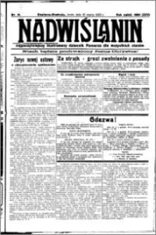 Nadwiślanin. Gazeta Ziemi Chełmińskiej, 1932.03.16 R. 14 nr 61