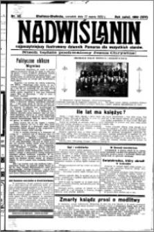 Nadwiślanin. Gazeta Ziemi Chełmińskiej, 1932.03.17 R. 14 nr 62