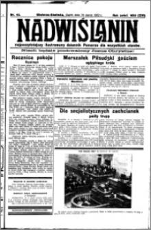 Nadwiślanin. Gazeta Ziemi Chełmińskiej, 1932.03.18 R. 14 nr 63