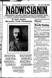 Nadwiślanin. Gazeta Ziemi Chełmińskiej, 1932.03.19 R. 14 nr 64