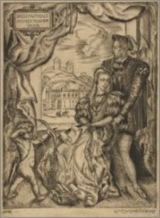 Zygmunt August z Barbarą Radziwiłłówną