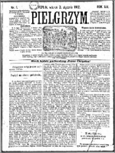 Pielgrzym, pismo religijne dla ludu 1882 nr 1