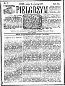 Pielgrzym, pismo religijne dla ludu 1882 nr 5