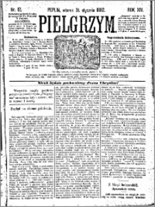 Pielgrzym, pismo religijne dla ludu 1882 nr 12