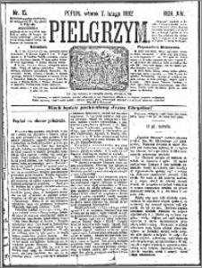 Pielgrzym, pismo religijne dla ludu 1882 nr 15