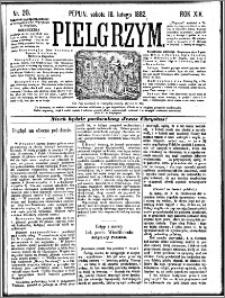 Pielgrzym, pismo religijne dla ludu 1882 nr 20