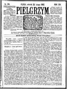 Pielgrzym, pismo religijne dla ludu 1882 nr 24