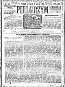 Pielgrzym, pismo religijne dla ludu 1882 nr 28
