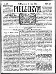 Pielgrzym, pismo religijne dla ludu 1882 nr 29