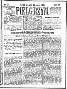 Pielgrzym, pismo religijne dla ludu 1882 nr 34