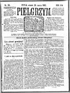 Pielgrzym, pismo religijne dla ludu 1882 nr 36