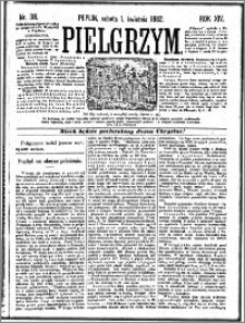 Pielgrzym, pismo religijne dla ludu 1882 nr 38