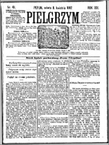 Pielgrzym, pismo religijne dla ludu 1882 nr 41