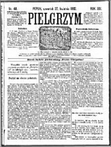 Pielgrzym, pismo religijne dla ludu 1882 nr 48