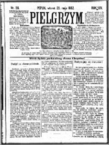 Pielgrzym, pismo religijne dla ludu 1882 nr 58