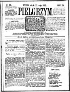 Pielgrzym, pismo religijne dla ludu 1882 nr 60