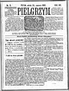 Pielgrzym, pismo religijne dla ludu 1882 nr 71