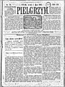 Pielgrzym, pismo religijne dla ludu 1882 nr 74
