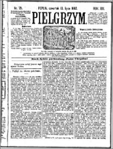 Pielgrzym, pismo religijne dla ludu 1882 nr 79