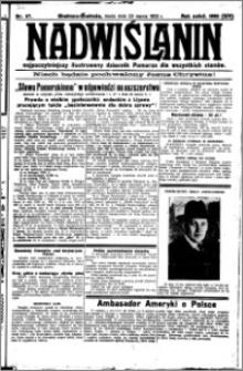 Nadwiślanin. Gazeta Ziemi Chełmińskiej, 1932.03.23 R. 14 nr 67