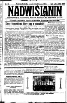 Nadwiślanin. Gazeta Ziemi Chełmińskiej, 1932.03.24 R. 14 nr 68
