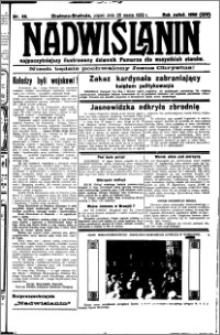 Nadwiślanin. Gazeta Ziemi Chełmińskiej, 1932.03.25 R. 14 nr 69