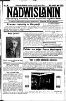 Nadwiślanin. Gazeta Ziemi Chełmińskiej, 1932.03.26 R. 14 nr 71