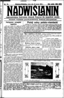 Nadwiślanin. Gazeta Ziemi Chełmińskiej, 1932.03.30 R. 14 nr 72
