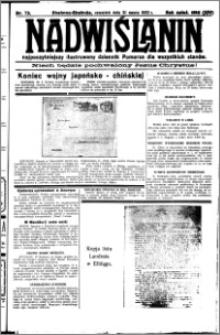 Nadwiślanin. Gazeta Ziemi Chełmińskiej, 1932.03.31 R. 14 nr 73