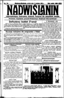 Nadwiślanin. Gazeta Ziemi Chełmińskiej, 1932.04.02 R. 14 nr 75