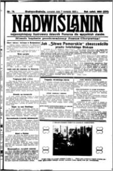 Nadwiślanin. Gazeta Ziemi Chełmińskiej, 1932.04.07 R. 14 nr 79
