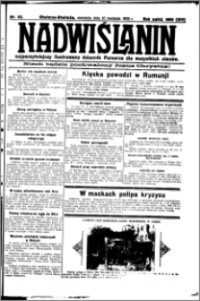 Nadwiślanin. Gazeta Ziemi Chełmińskiej, 1932.04.10 R. 14 nr 82