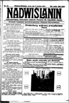 Nadwiślanin. Gazeta Ziemi Chełmińskiej, 1932.04.12 R. 14 nr 83