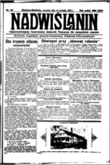 Nadwiślanin. Gazeta Ziemi Chełmińskiej, 1932.04.14 R. 14 nr 85