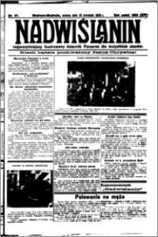 Nadwiślanin. Gazeta Ziemi Chełmińskiej, 1932.04.16 R. 14 nr 87