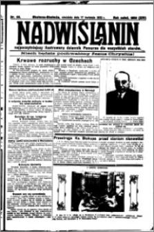 Nadwiślanin. Gazeta Ziemi Chełmińskiej, 1932.04.17 R. 14 nr 88
