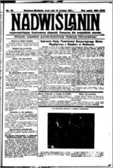 Nadwiślanin. Gazeta Ziemi Chełmińskiej, 1932.04.20 R. 14 nr 90