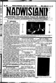 Nadwiślanin. Gazeta Ziemi Chełmińskiej, 1932.04.22 R. 14 nr 92