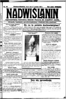 Nadwiślanin. Gazeta Ziemi Chełmińskiej, 1932.04.27 R. 14 nr 96