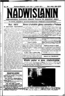 Nadwiślanin. Gazeta Ziemi Chełmińskiej, 1932.04.29 R. 14 nr 98