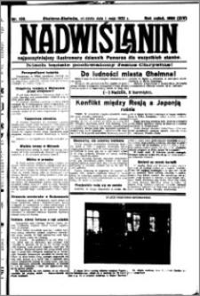 Nadwiślanin. Gazeta Ziemi Chełmińskiej, 1932.05.01 R. 14 nr 100