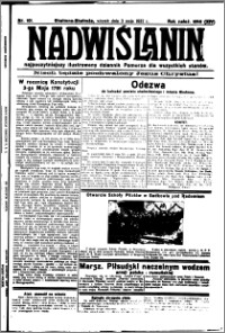 Nadwiślanin. Gazeta Ziemi Chełmińskiej, 1932.05.03 R. 14 nr 101