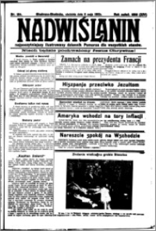 Nadwiślanin. Gazeta Ziemi Chełmińskiej, 1932.05.08 R. 14 nr 104
