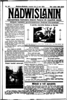 Nadwiślanin. Gazeta Ziemi Chełmińskiej, 1932.05.12 R. 14 nr 107