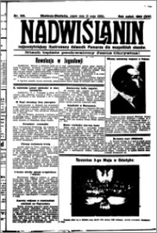 Nadwiślanin. Gazeta Ziemi Chełmińskiej, 1932.05.13 R. 14 nr 108