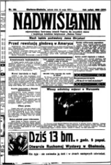 Nadwiślanin. Gazeta Ziemi Chełmińskiej, 1932.05.14 R. 14 nr 109