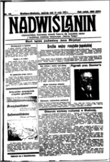 Nadwiślanin. Gazeta Ziemi Chełmińskiej, 1932.05.15 R. 14 nr 110