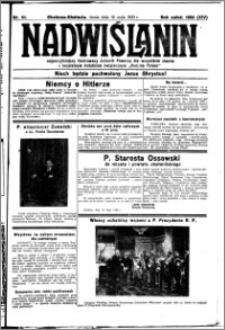 Nadwiślanin. Gazeta Ziemi Chełmińskiej, 1932.05.18 R. 14 nr 111