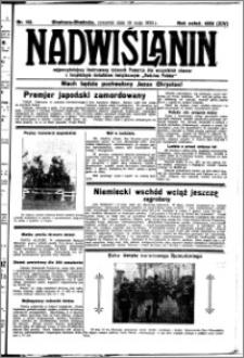 Nadwiślanin. Gazeta Ziemi Chełmińskiej, 1932.05.19 R. 14 nr 112