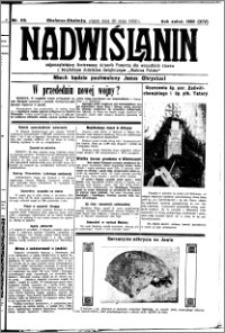 Nadwiślanin. Gazeta Ziemi Chełmińskiej, 1932.05.20 R. 14 nr 113